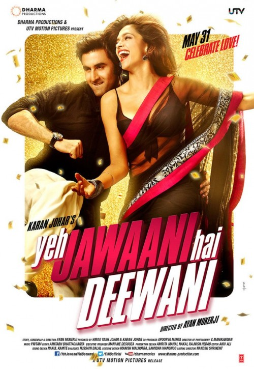 Yeh Jawaani Hai Deewani (2013) Hindi 1080p HEVC BluRay X265 1GB