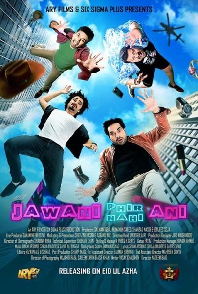 Jawani Phir Nahi Aani (2015) Urdu 720p HEVC WEB DL x265 795 MB