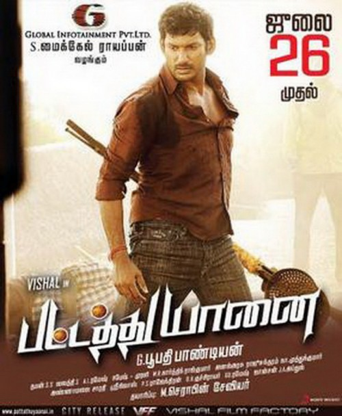 Pattathu Yaanai (2013) Hindi Dubbed 720p HEVC HDRip X265 700MB