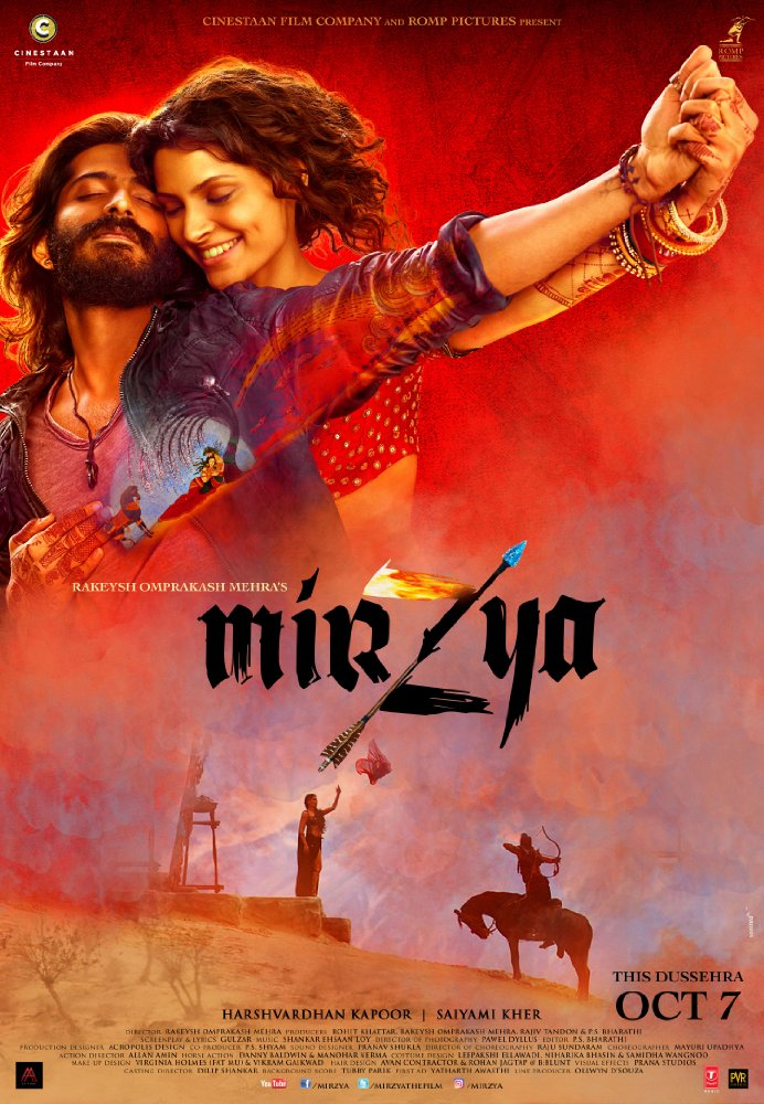 Mirzya (2016) Hindi 1080p HEVC WEB-DL x265 800MB