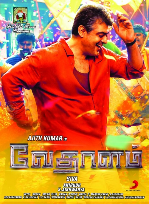 Vedalam (2015) Hindi Dubbed 720p  HEVC HDRip X265 750MB