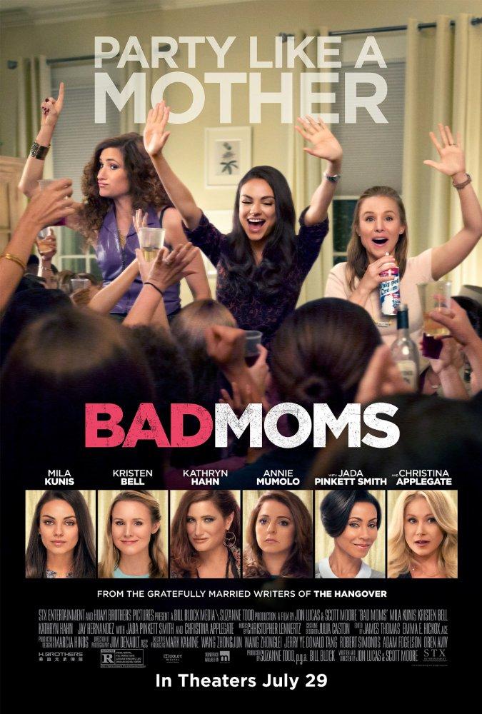 Bad Moms (2016) 1080p HEVC Bluray x265 636 MB