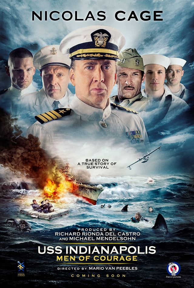USS Indianapolis: Men of Courage (2016) 1080p web-dl x265 785 MB