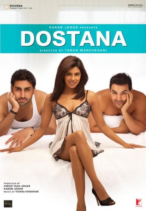 Dostana (2008) Hindi 1080p Bluray X265 890MB