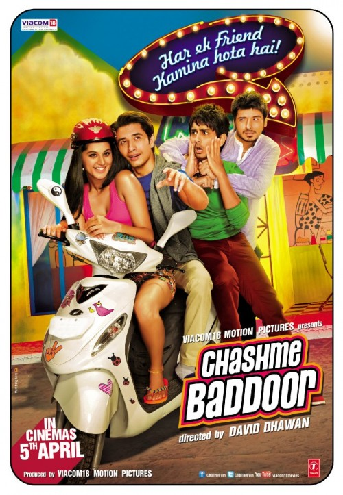 Chashme Baddoor (2013) Hindi 720p DvDrip x264 899MB