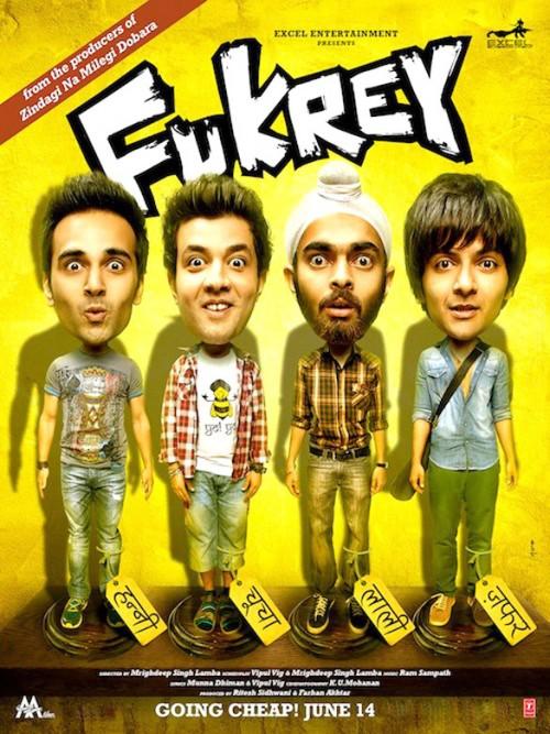 Fukrey (2013) Hindi 720p BluRay x264 980MB