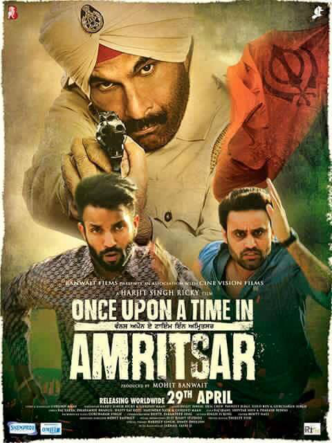 Once Upon A Time in Amritsar (2016) Panjabi DVDRIP x264 700MB