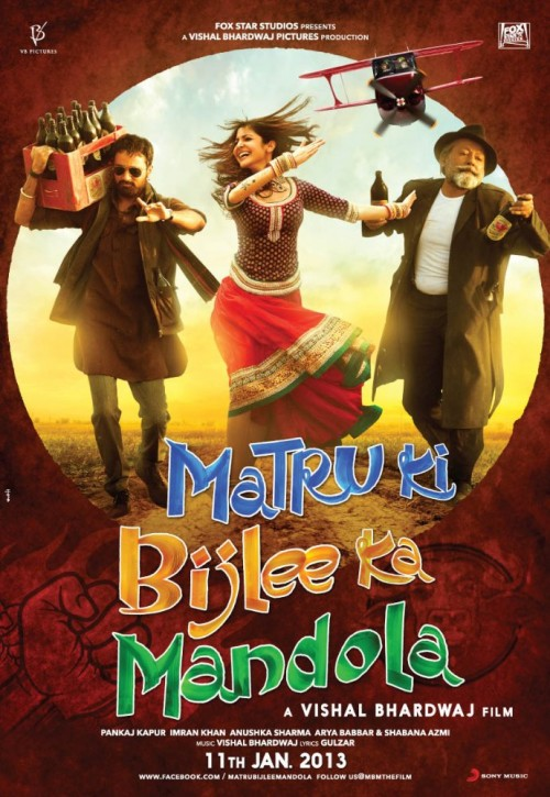 Matru Ki Bijlee Ka Mandola (2013) Hindi 720p HEVC BluRay x265 700MB