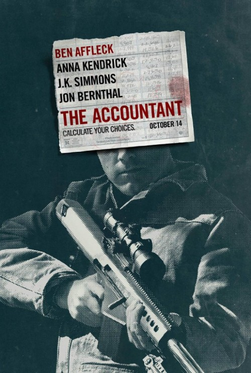 The Accountant (2016) Hdcam x264 700MB