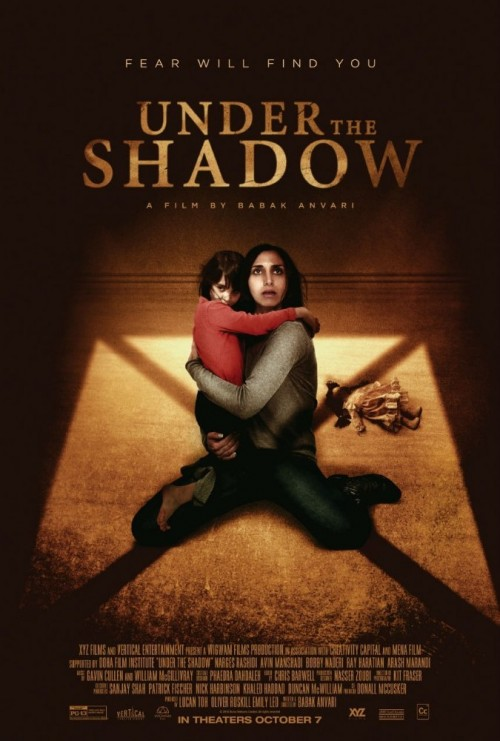 Under The Shadow (2016) persian 1080p HEVC WEB-DL x265 520MB