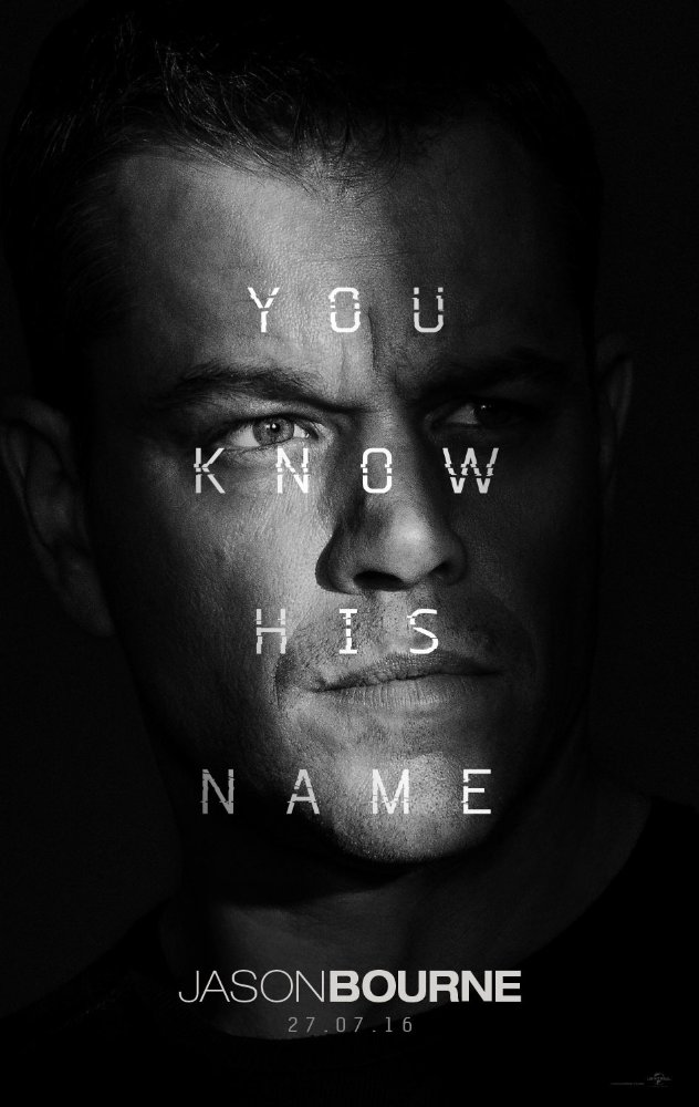 Jason Bourne (2016) 1080p HEVC Web-dl X265 776 MB