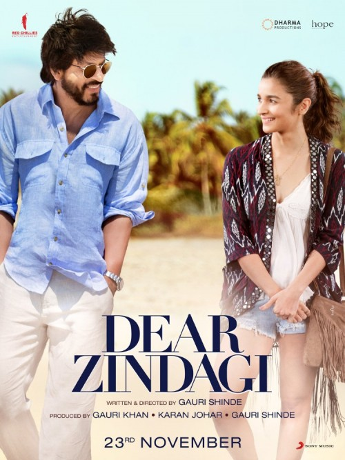 Dear Zindagi (2016) Hindi 1CD DesiPDVD x264 695MB