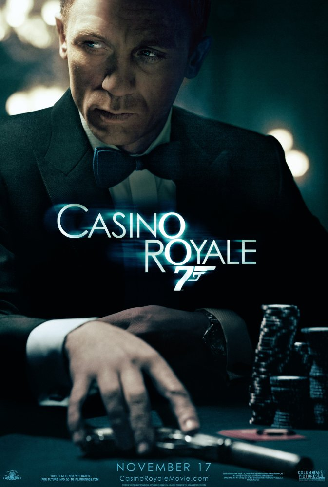 Casino Royale (2006)  1080p HEVC BluRay x265 900MB