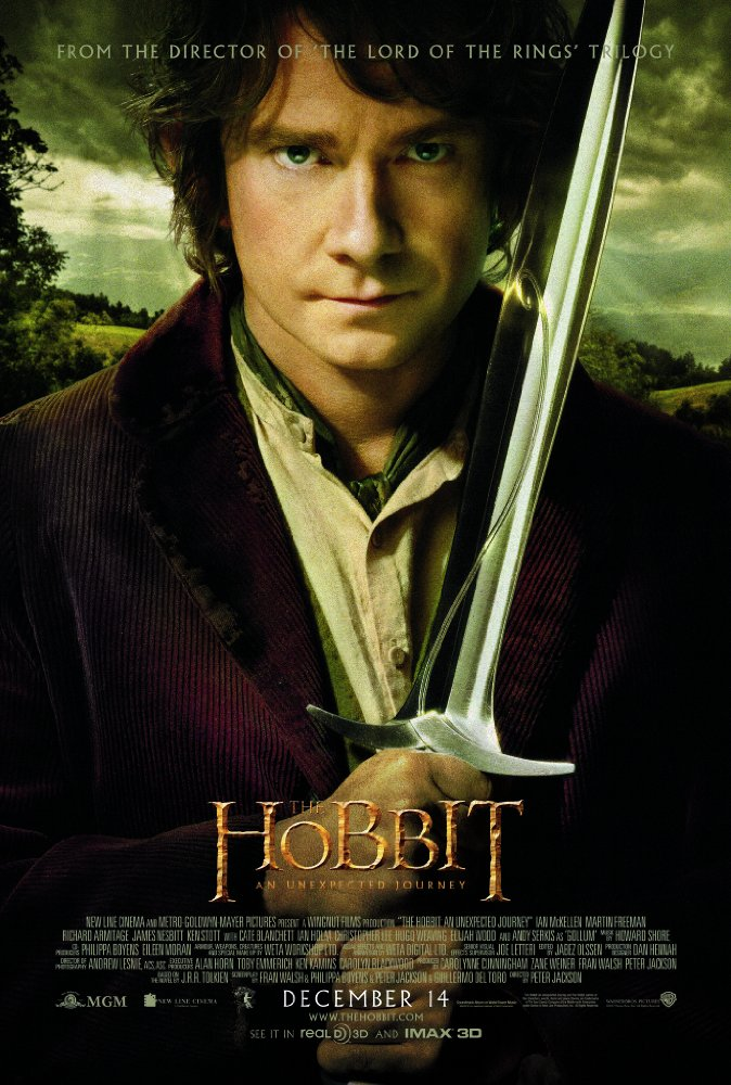 The Hobbit: An Unexpected Journey (2012)  1080p HEVC BluRay x265 1 GB