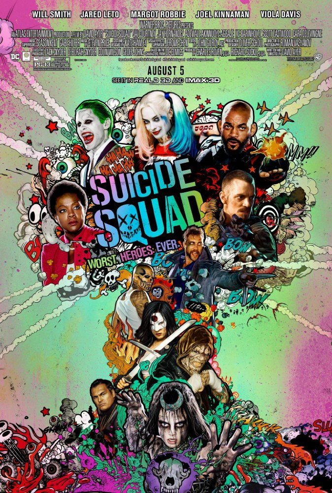 Suicide Squad (2016) 720p BluRay x264 999 MB