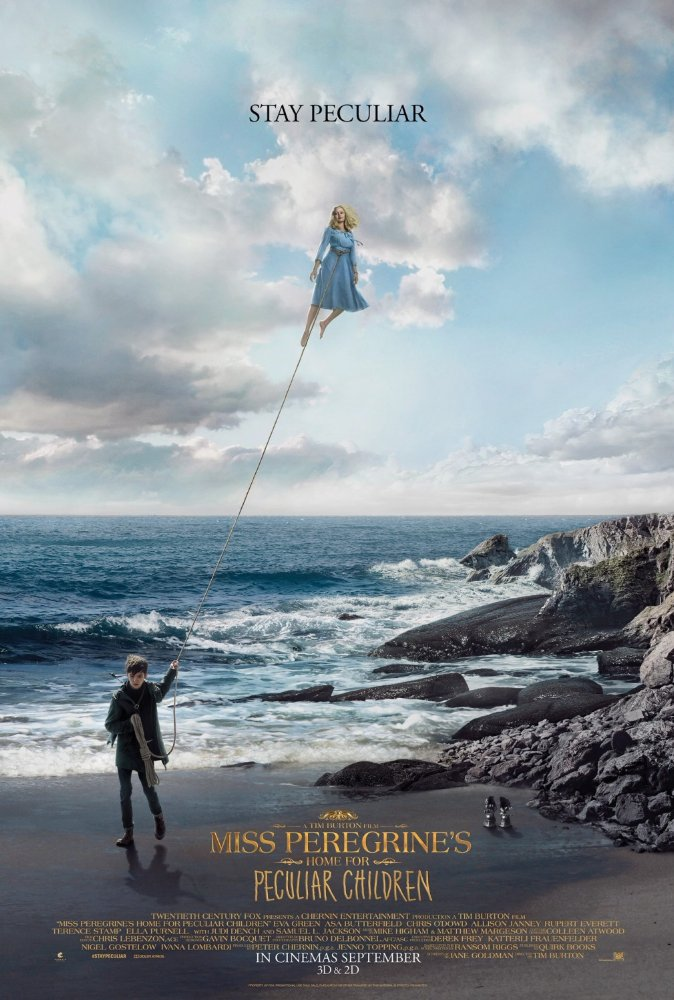 Miss Peregrine's Home for Peculiar Children (2016) 720p BluRay x264 925 MB
