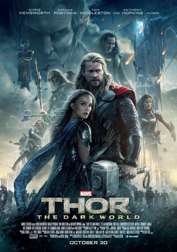 Thor: The Dark World (2013) 1080p Hindi Dubbed BluRay x264 700 MB