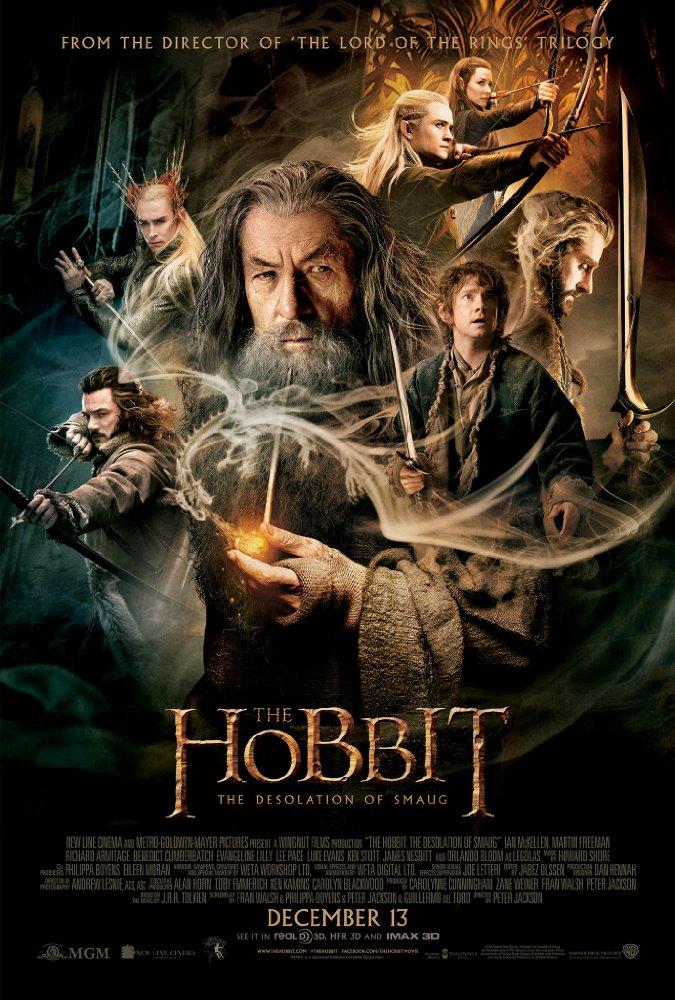 The Hobbit: The Desolation of Smaug (2013) 1080p  Hindi Dubbed BluRay x264 1.15 GB