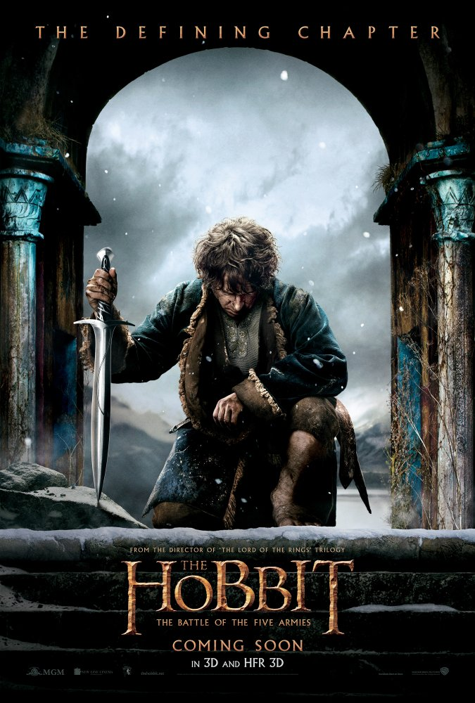 The Hobbit: The Battle of the Five Armies (2014)  1080p Hindi Dubbed BluRay  x264 1 GB