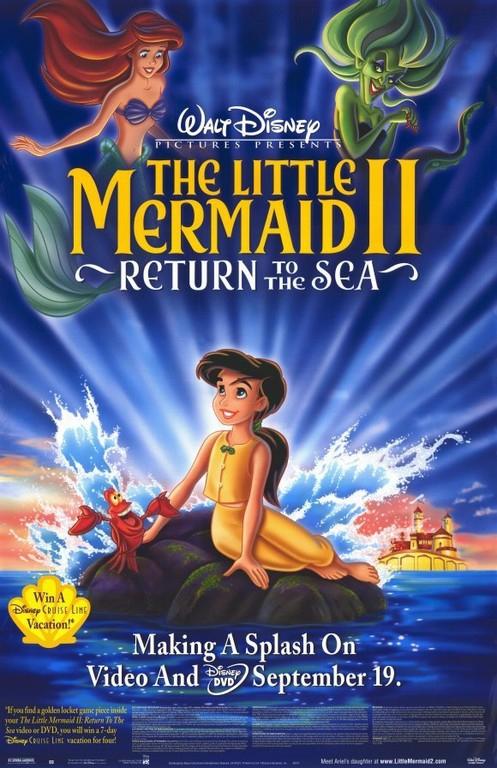 The Little Mermaid 2: Return to the Sea (2000) 720p Hindi Dubbed BluRay x264 804 MB