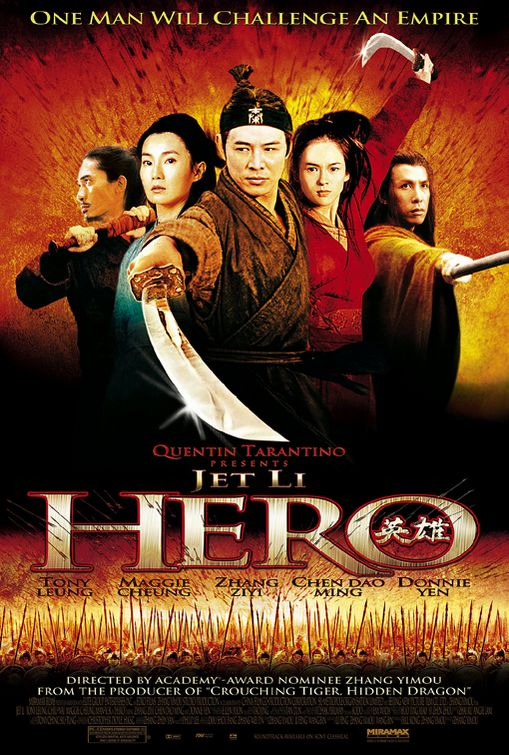 Hero (2002) 720p Hindi Dubbed BluRay x264 690 MB
