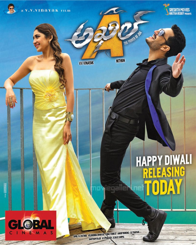 Akhil (2015) 1080p Hindi Dubbed WEB-DL x264 770 MB