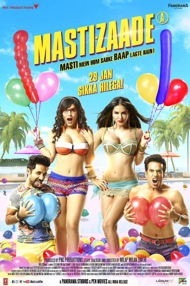 Mastizaade (2016) Hindi 1080p WEB-DL x264 670 MB