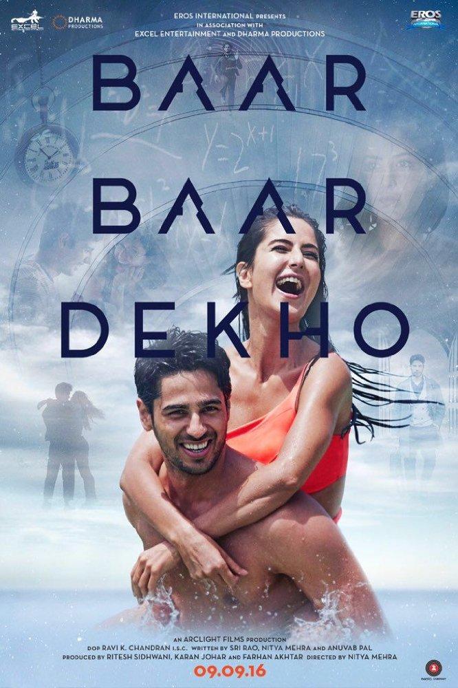 Baar Baar Dekho (2016) Hindi 720p HDRip x264 660 MB