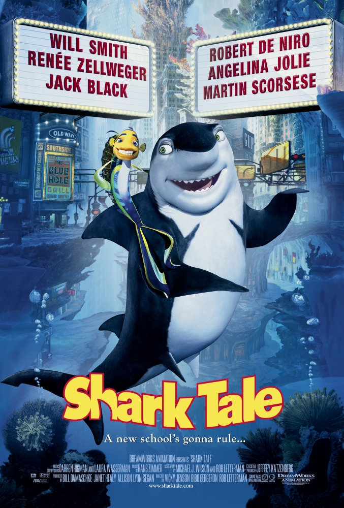 Shark Tale (2004) Hindi Dubbed 720p WEBRip x264 435 MB