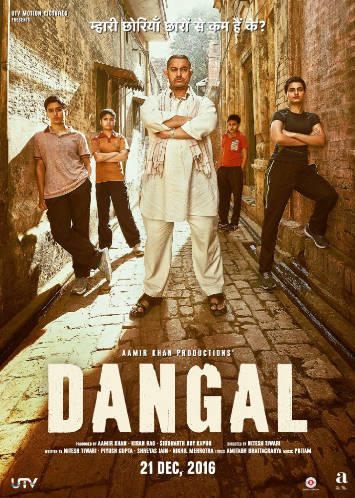Dangal 2016 Hindi 720p Bluray X265