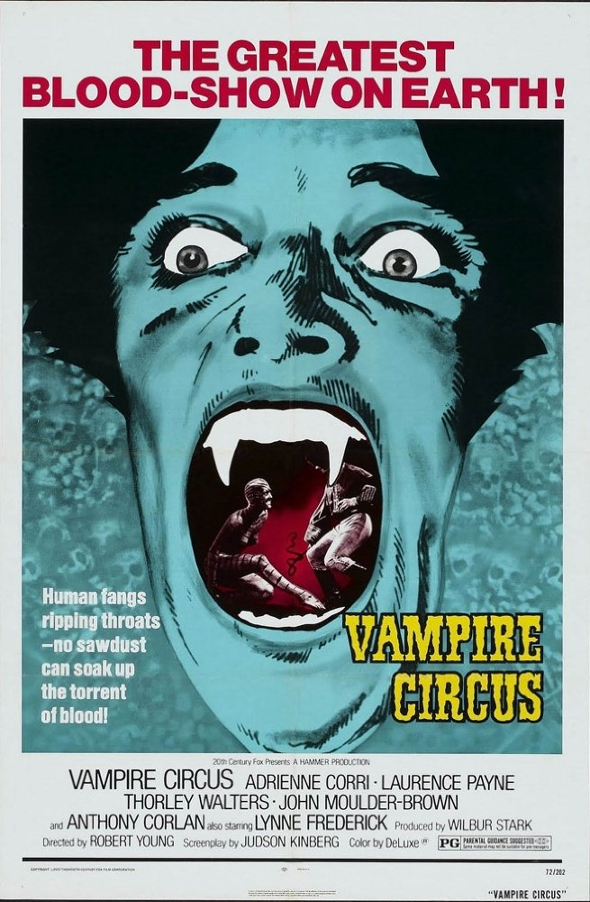 Vampire Circus (1972) Hindi Dubbed  720p BluRay x264 830 MB