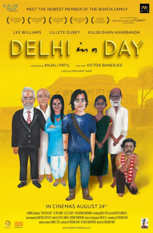 Delhi in a Day (2011) Hindi 1080p NFrip x264 550 MB