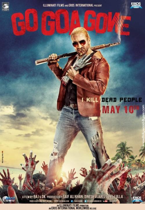 Go Goa Gone (2013) HEVC DvDRip X265 500MB