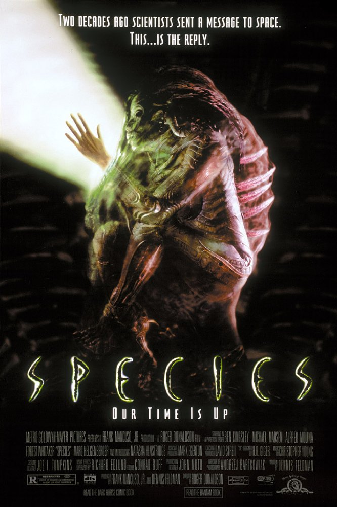 Species (1995) Hindi Dubbed 720p BluRay x264 530 MB