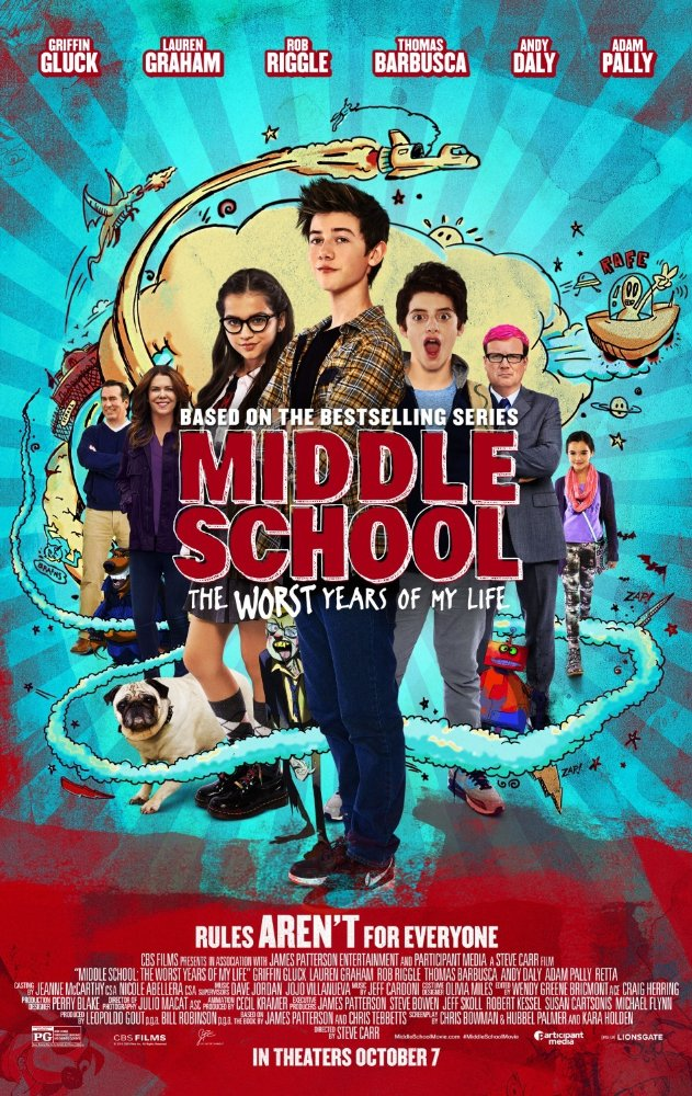 Middle School: The Worst Years of My Life (2016) 720p BluRay x264 672 MB