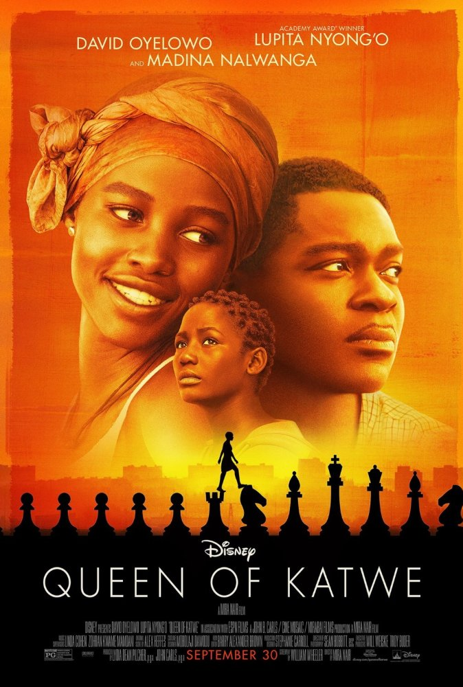 Queen of Katwe (2016) Hindi Dubbed 720p BluRay x265 1.1GB