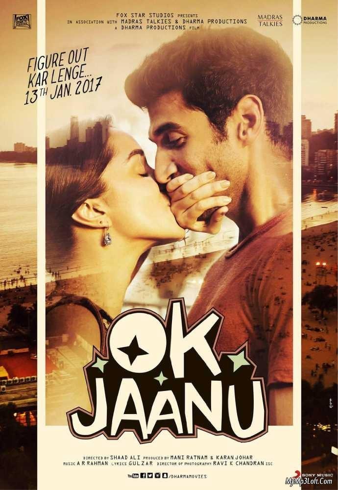 Ok Jaanu (2017) Hindi  DesiPDvD Rip x264 700MB