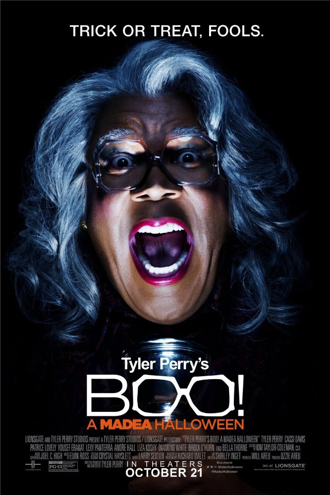 Boo! A Madea Halloween (2016) 720p BluRay x264 748 MB