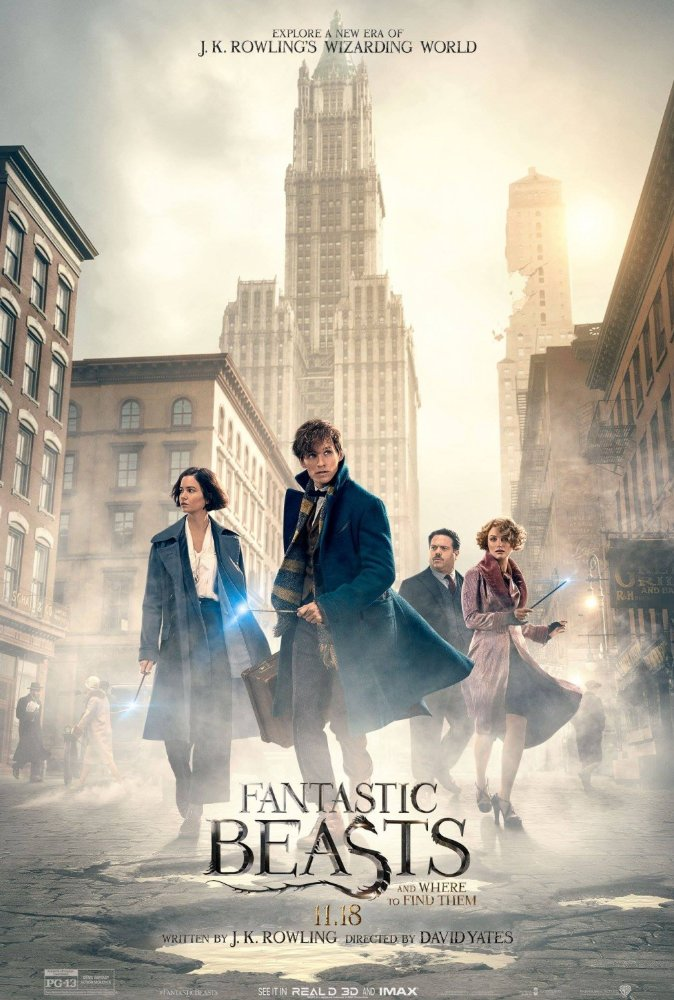 Fantastic Beasts and Where to Find Them (2016) Hindi Dubbed 720p HC HDRip x264 1.1GB