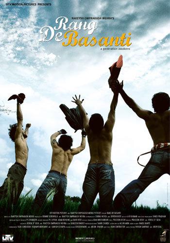 Rang De Basanti (2006) Hindi 720p HEVC BluRay x265 0.97GB