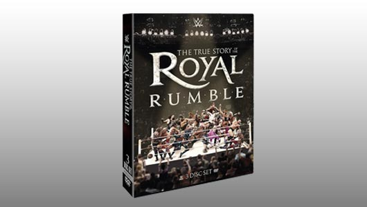 True Story Of The Royal Rumble DVD