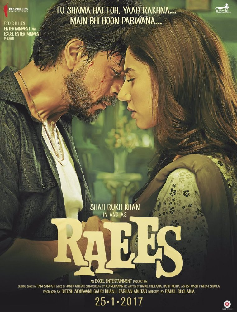 Raees (2017) Hindi 1CD DesiSCR Rip x264 700MB