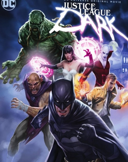 Justice League Dark (2017) 480p HEVC WEB-DL x265 170MB