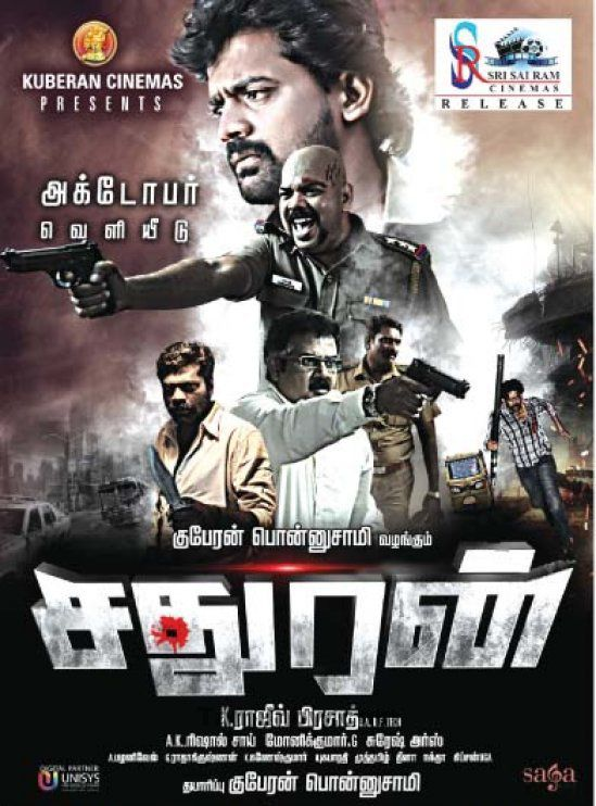Sathuran (2015) Hindi Dubbed 720p  HDRiP x264 1.1GB