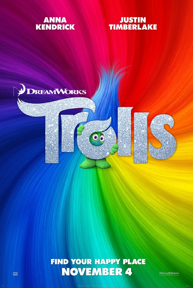 Trolls (2016) 720p BluRay x264 676 MB