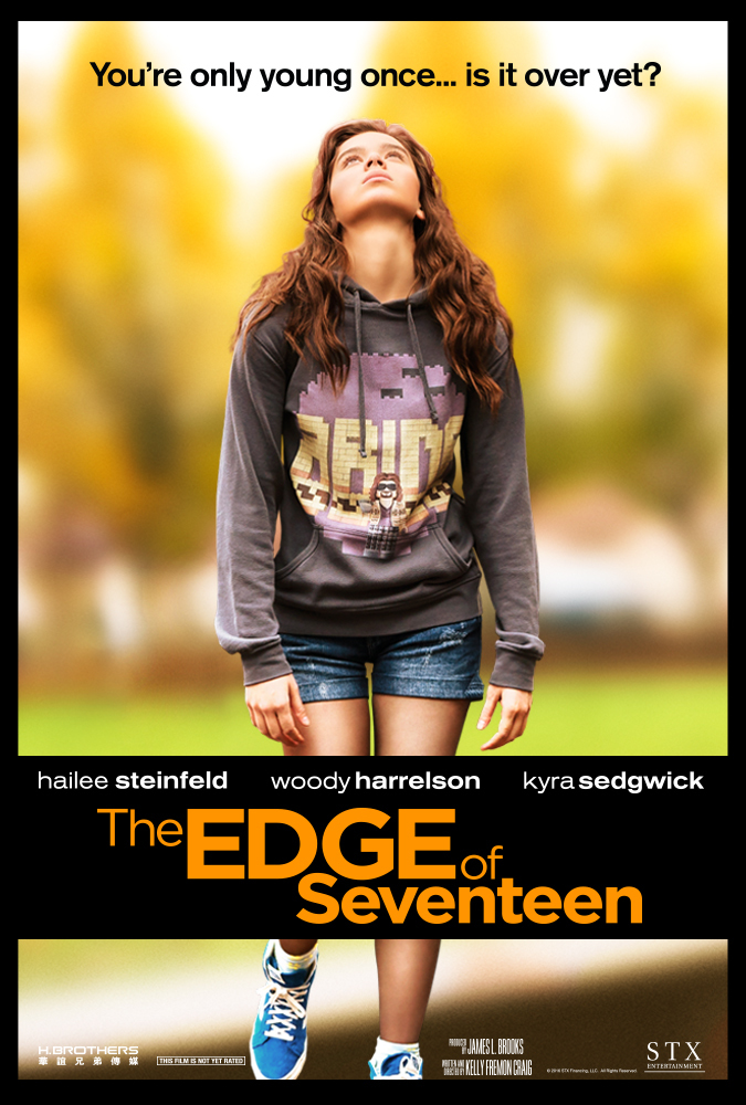 The Edge of Seventeen (2016) DVDScr X264 1.44 GB