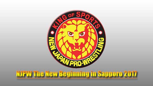 Watch NJPW The New Beginning in Sapporo 2017