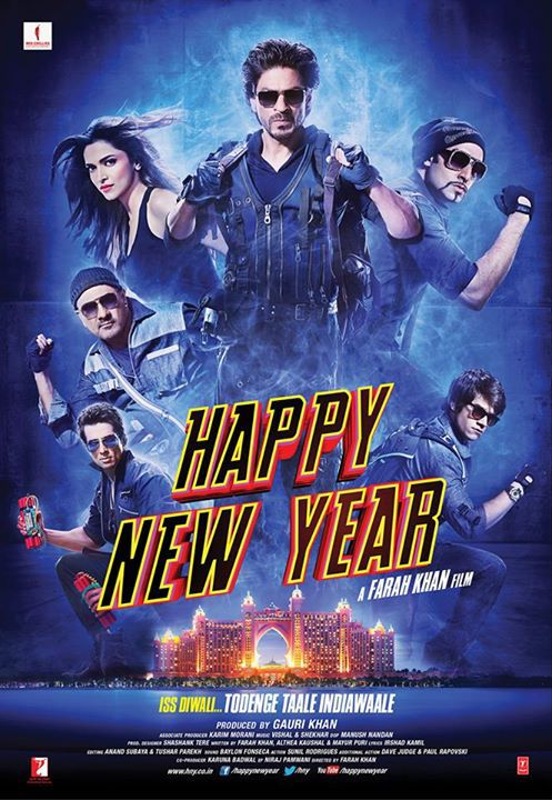 Happy New Year (2014) Hindi 480p Mobile HEVC BluRay x265 400MB