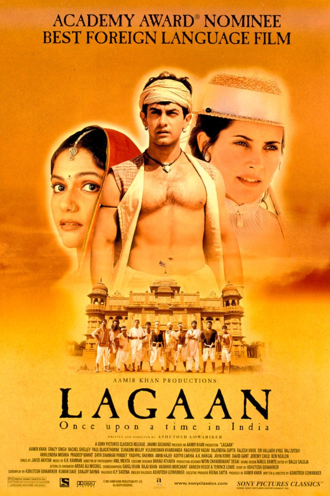 Lagaan (2001) Hindi 480p Mobile HEVC DVDRip x265 500MB