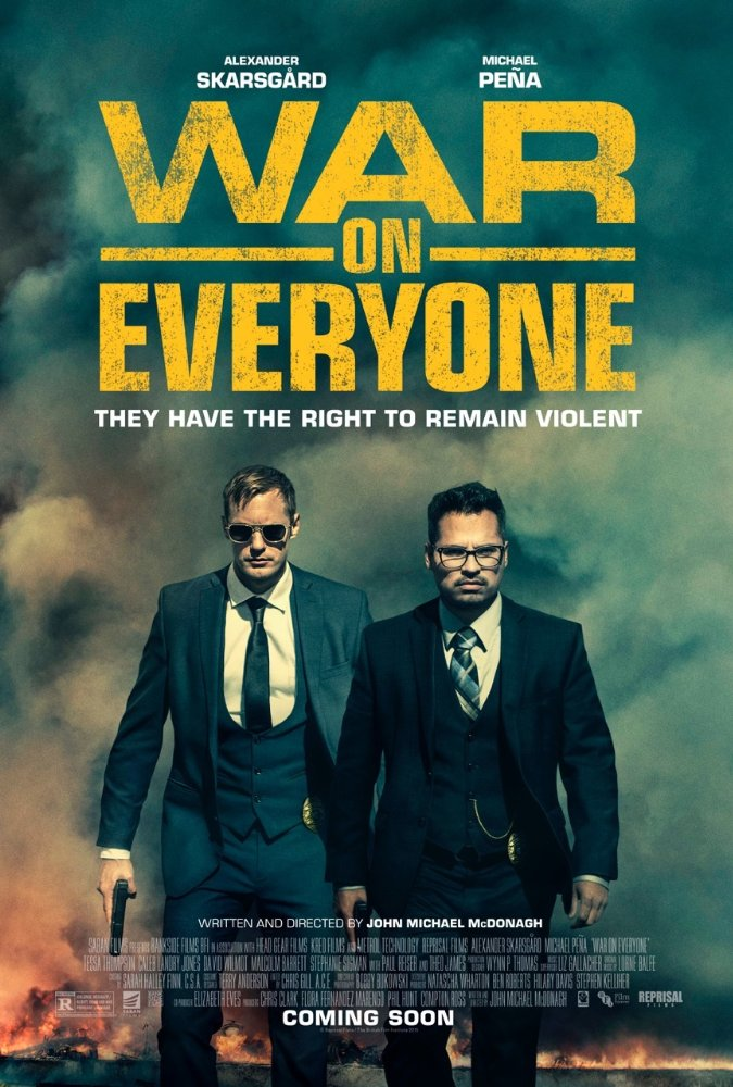 War on Everyone (2016) 720p BluRay x264 716 MB